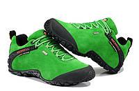 Женские демисезонные ботинки Merrell  Low зеленые