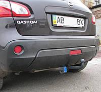 Фаркоп на Nissan Qashqai (2006-2014) Ниссан Кашкай