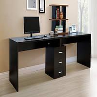 """Оригинальный двойной компьютерный стол """"Харбрайт"""", ДСП 16 мм"""