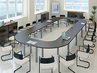 """Оригинальный кольцевой стол для конференций """"Элементрикс"""""""
