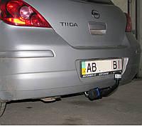 Фаркоп на Nissan Tiida (2004-2015) Ниссан Тиида