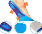 Стельки гелевые спортивные ортопедические, фото 4