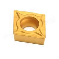 CCMT09T304 (сталь+нерж. сталь) Твердосплавная пластина для токарного резца