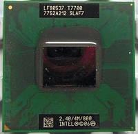 Intel Core 2 Duo T7700 2.4GHz/4M/800 socket P +термопаста