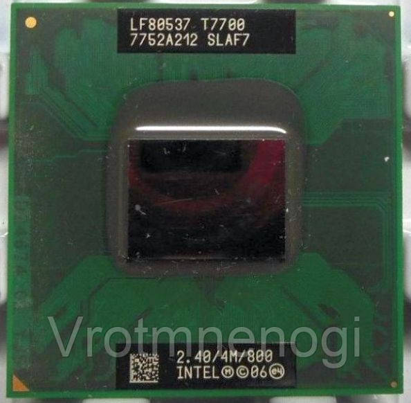 Intel Core 2 Duo T7700 2.4GHz/4M/800 socket P