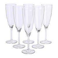 """IKEA"" SVALKA"" Бокал для шампанского, стекло, прозрачный / 6 штук"