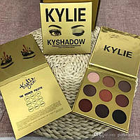 Палетка теней кайли, палетка теней kylie, Kylie Cosmetics Kyshadow The Burgundy Palette, теней, для теней