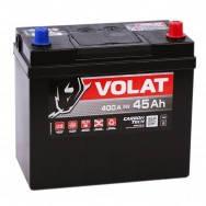 Аккумулятор автомобильный VOLAT ASIA- 45A +прав (400 пуск)