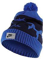 Шапка Nike Camo Pom Beanie 688788-480