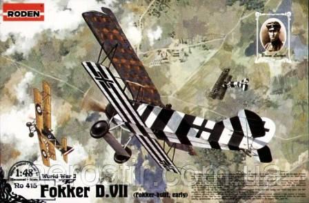 Fokker D.VII 1/48 RODEN 415