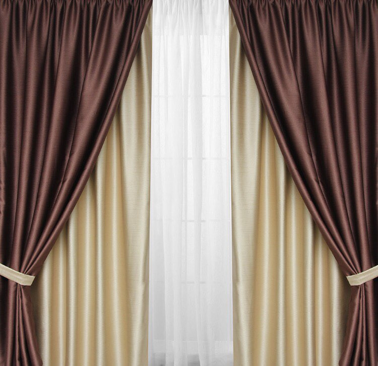 фото шторы с подхватами