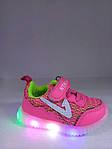 Кроссовки  с подсветкой для девочки Jong-Golf
