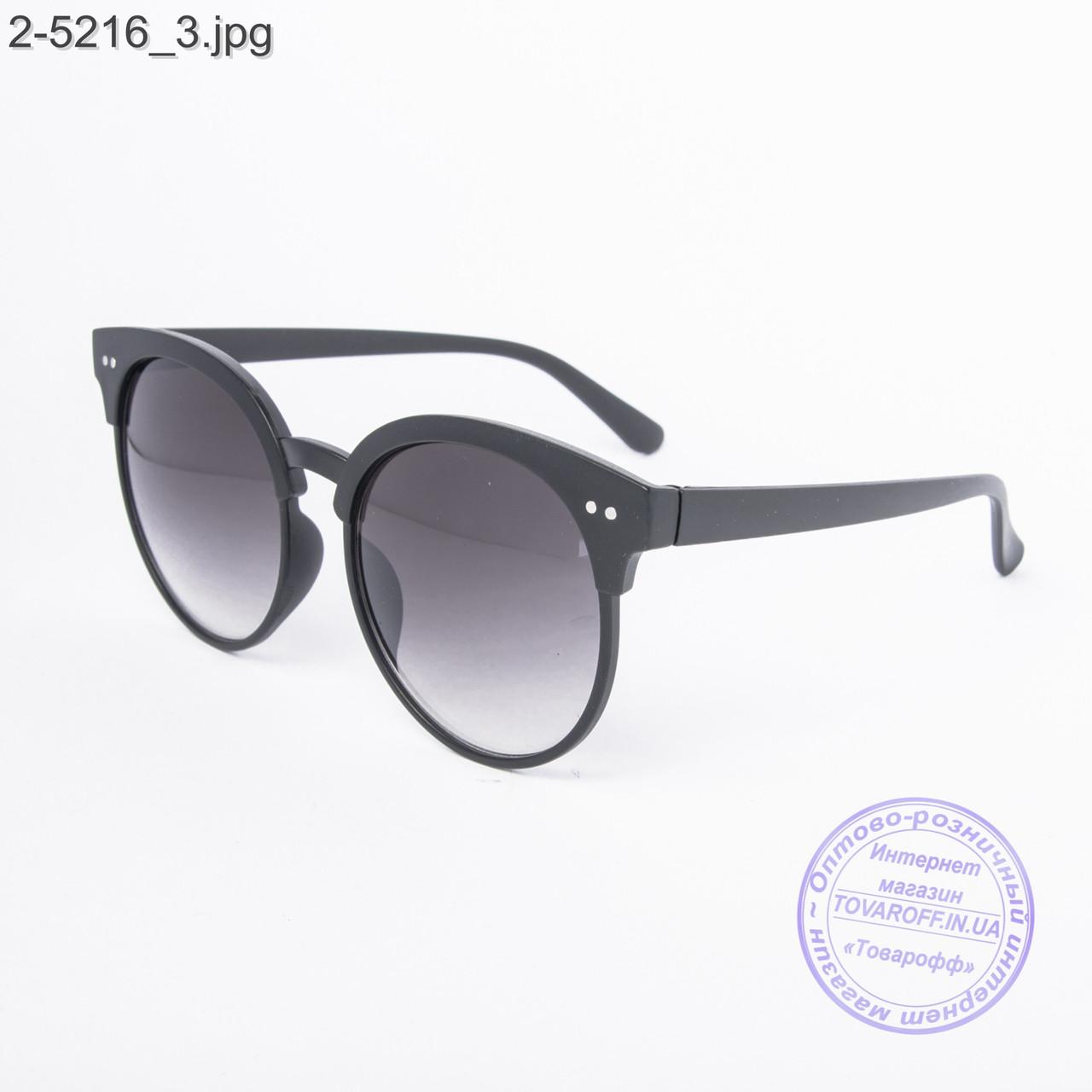 Солнцезащитные очки унисекс черные - 2-5216 - купить по лучшей цене ... 98095fbaec0