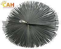 Щетка металлическая плоская для чистки дымохода ЛЮКС 200 мм