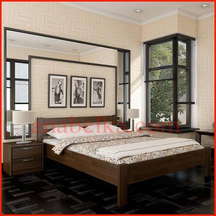 Кровать деревянная  Рената   (Эстелла), фото 2