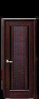 """Двери межкомнатные """"Новый Стиль Луиза BLK"""" каштан"""