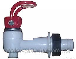 Кран гарячої води з гайкою (верхній натиск)