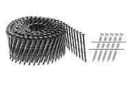 Гвозди в бобинах 2,7х58 кольцевые