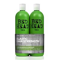 Набір для зміцнення ламкого волосся Tigi Bed Head Elasticate Шампунь 750 мл + Кондиціонер 750 мл