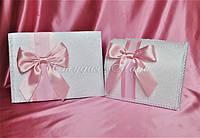 Свадебные аксессуары ручной работы в белый и розовый