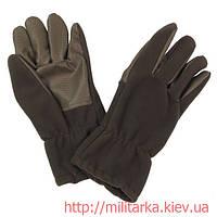 Перчатки зимние MFH флис олива