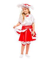 Карнавальный костюм гриба Мухомора весенний на праздник Весны (3-8 лет)