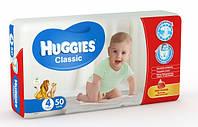 Подгузники Huggies Classic 4 (7-16 кг) Jumbo Pack 50 шт.