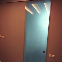 Стеклянные матовые двери под заказ