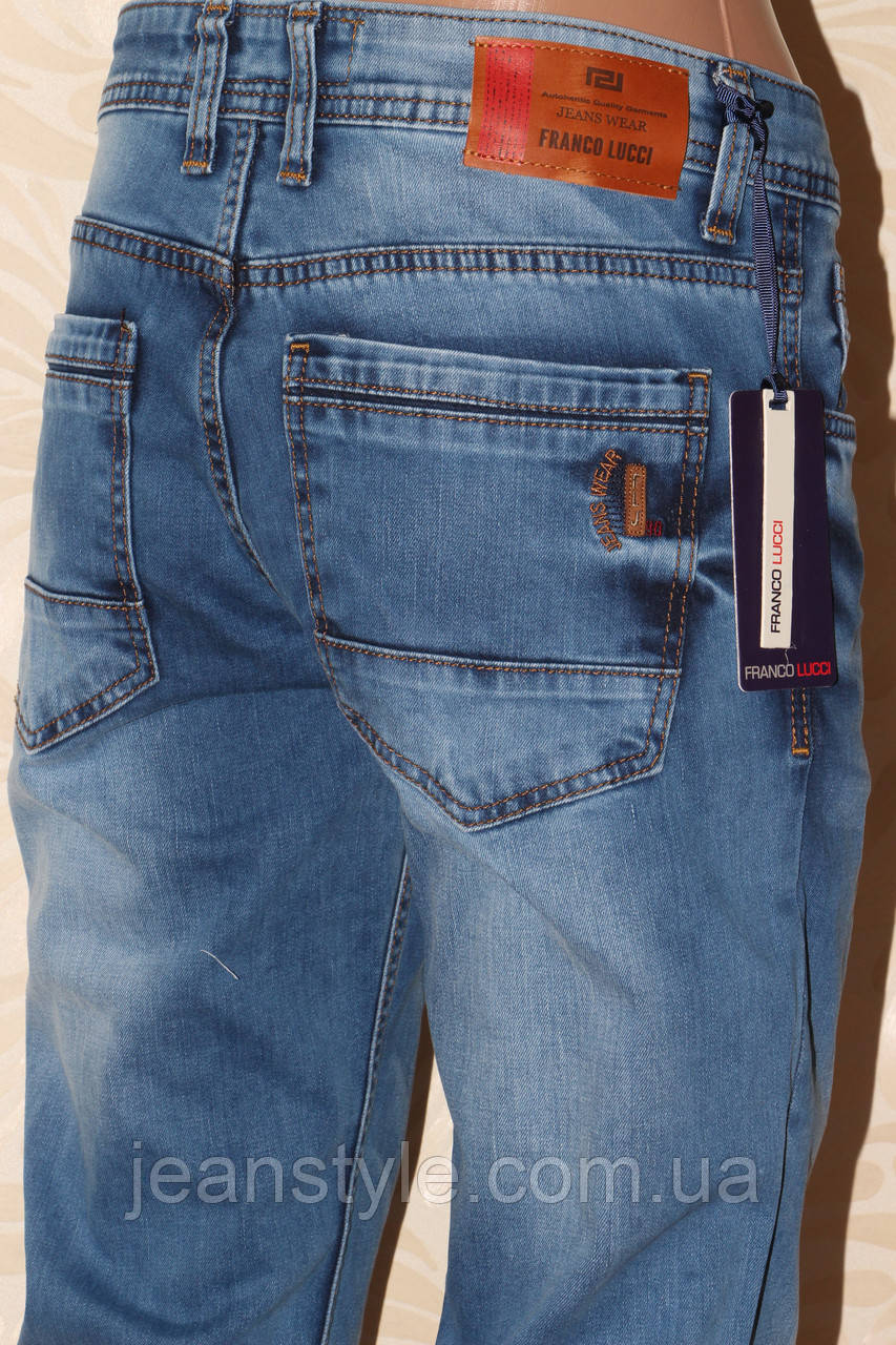 4956a58d0f3b Турецкие джинсы с потертостями Franco lucci
