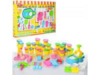 Детский набор пластилина с формочками