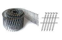Гвозди в бобинах 3,3х90 крученные