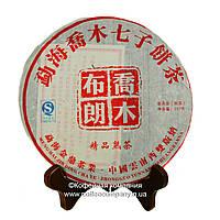 Чай Пуэр Шу Элитная серия 2002 года прессованный 357г
