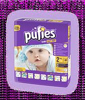 Детские подгузники Pufies Art&Dry 2 mini (3-6 кг) 80 шт.
