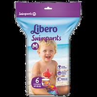 Трусики для бассейна Libero SWIMPANTS medium (10-16 кг) 6шт.