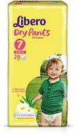 Подгузники-трусики Libero Dry Pants XL Plus 7 (16-26 кг) 28 шт.