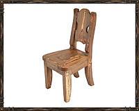 """Оригинальный стул из массива сосны """"Атос-12"""""""