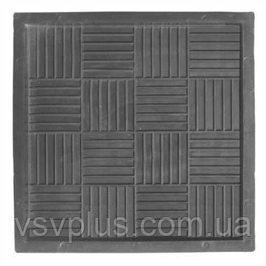 Пластикові форми для тротуарної плитки Печиво 300х300х30 Верес 1 шт