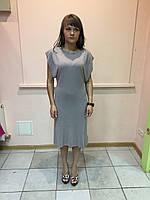 Платье женское короткий рукав Snake Milano с поясом,цвет капучино