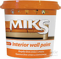 Краска Miks color для стен и потолков 5 литров