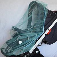 Москитная сетка на коляску универсальная (светло-зелёная)