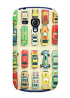 Чехол Samsung i8190 (s3 mini) -Машинки