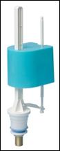 Клапан нижней подачи воды с латунной резьбой NOVA