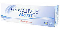 Johnson&Johnson 1-Day Acuvue Moist | Линзы на 1 день (30 шт.) 8.5, -2.75