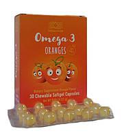 Омега 3 с апельсиновым вкусом - дополнительный источник ПНЖК