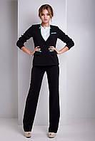 Черный классический пиджак женский Monreal' 42–52р.