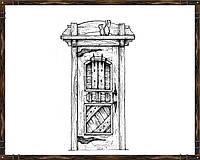 Дверь из массива сосны ДД-6