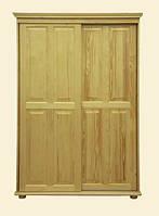 Шкаф-купе из натуральной древесины мебельной фабрики Скиф. Модель ШФ-7