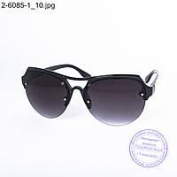 Солнцезащитные очки унисекс - черные - 2-6085-1, фото 1
