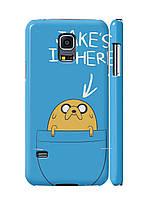 Чехол Samsung g800 s5 mini -Jack is here