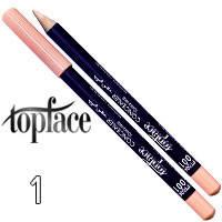 TopFace - Консилер карандаш для губ PT-604 Тон 01 против растекания помады/блеска